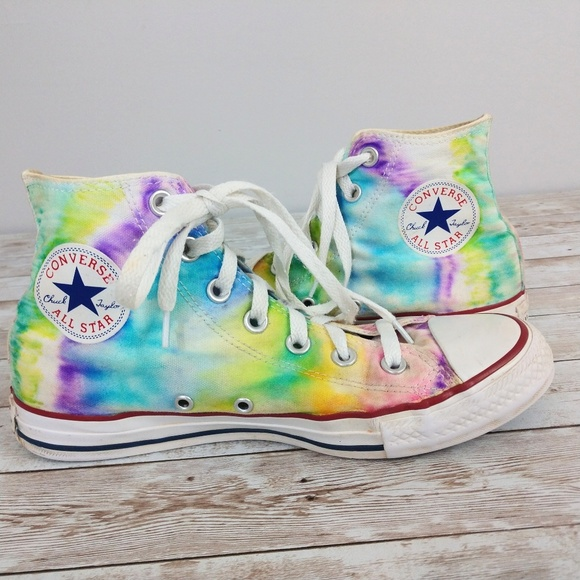 d9ad6ad935d0 Converse Shoes - Converse All-Star High Tops Pastel Tie-dye Sneaker